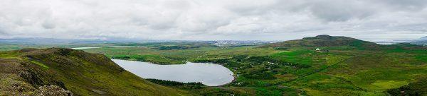 Landscapes around Reykjavik