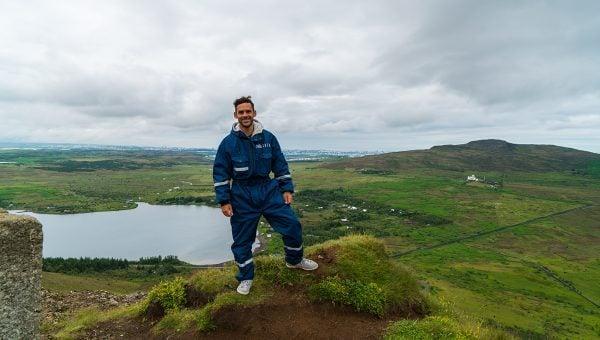 The Landscapes near Reykjavik