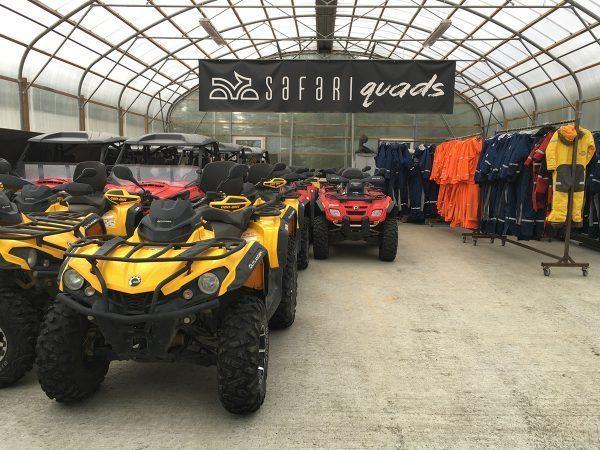 Safari Quads setup