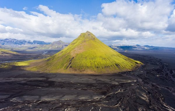 Mount Maelifell in Iceland