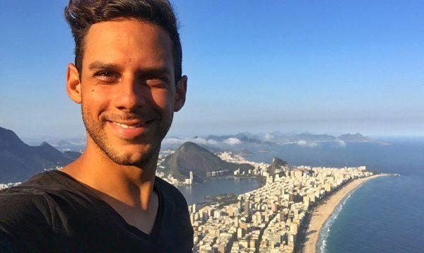 At Morro Dois Irmaos, Rio De Janeiro