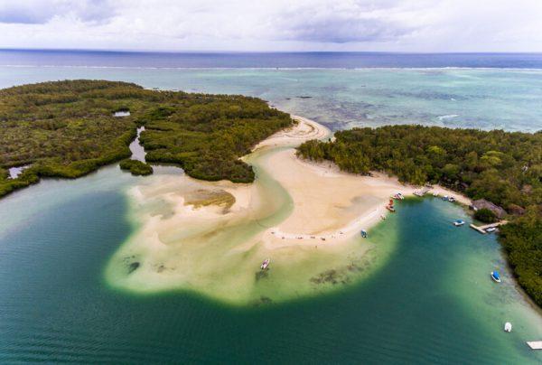 Ile Aux Certs Beach in Mauritius