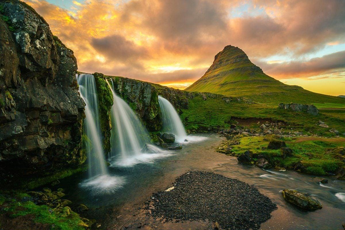 Kirkjufell in Snaefellsnes, Iceland