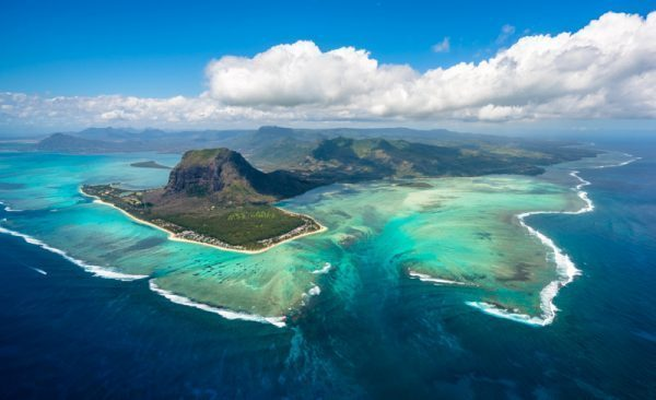 The Underwater Waterfall and Le Morne in Mauritius