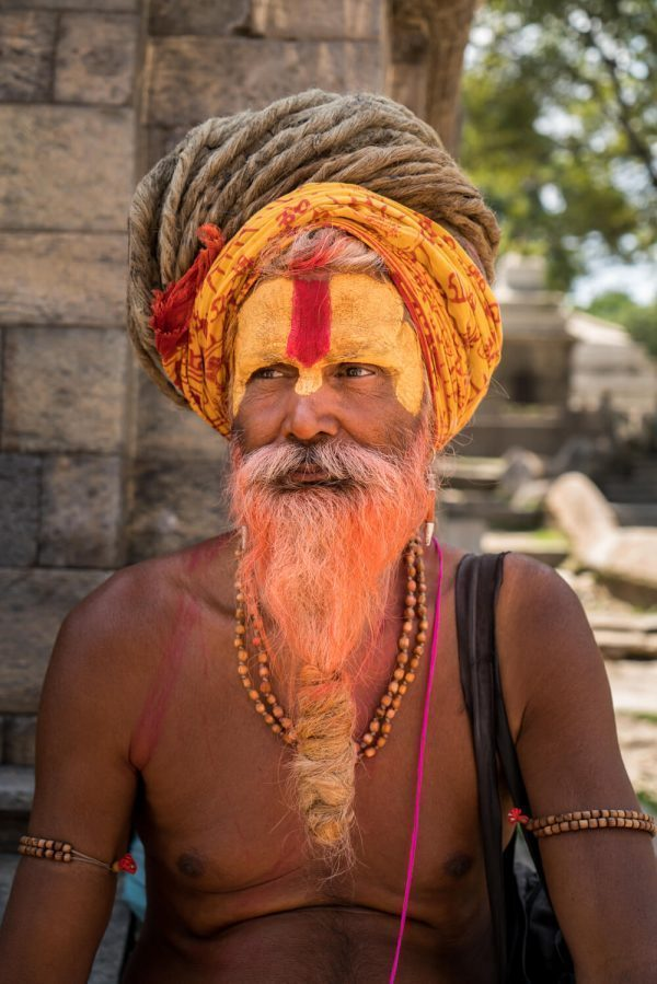 A peaceful sadhu at Pashupatinath