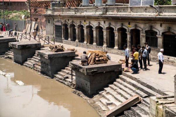 The ghats at Pashupatinath
