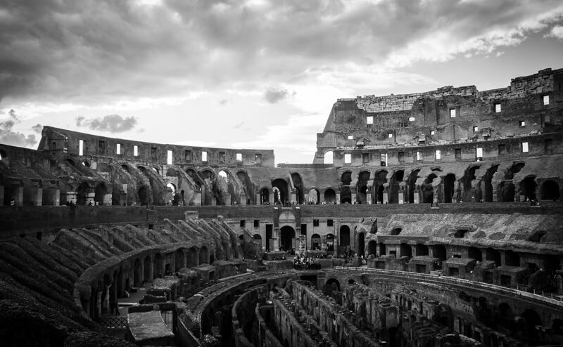 Rome's Colosseum, Italy