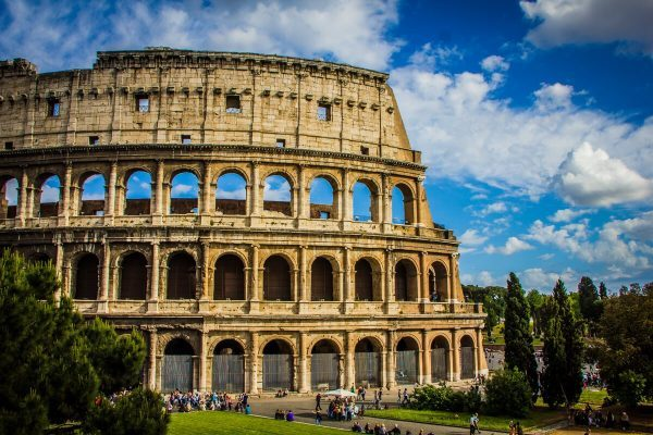 Rome's Colosseum in Italy