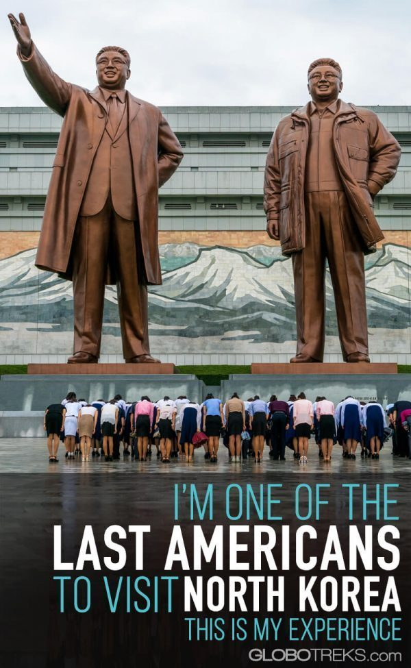 I'm one of the last Americans to visit North Korea. This is my experience.