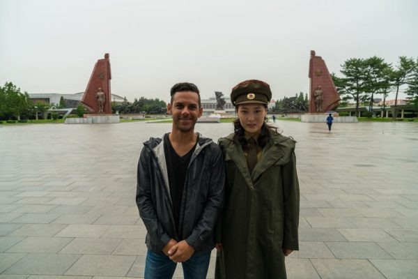 At the Victorious Fatherland Liberation War Museum in Pyongyang, North Korea