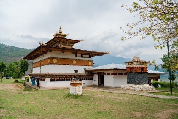 Chime Lhakhang temple in Bhutan