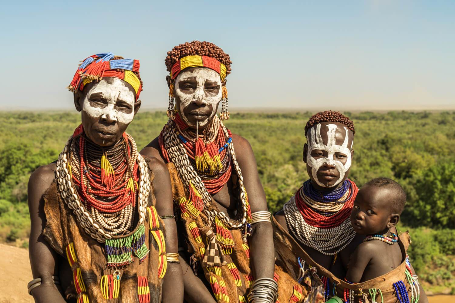 Karo Women by the Omo River