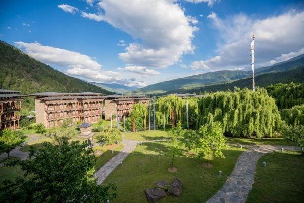 Zhiwa Ling Hotel in Bhutan