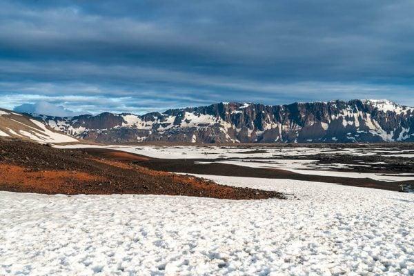 Landscape of Askja