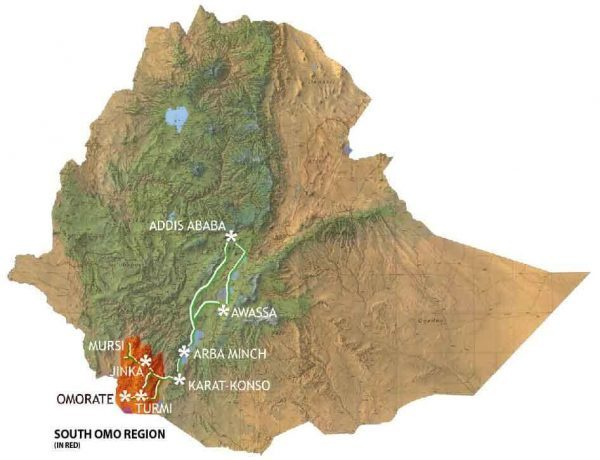 South Omo Region, Ethiopia