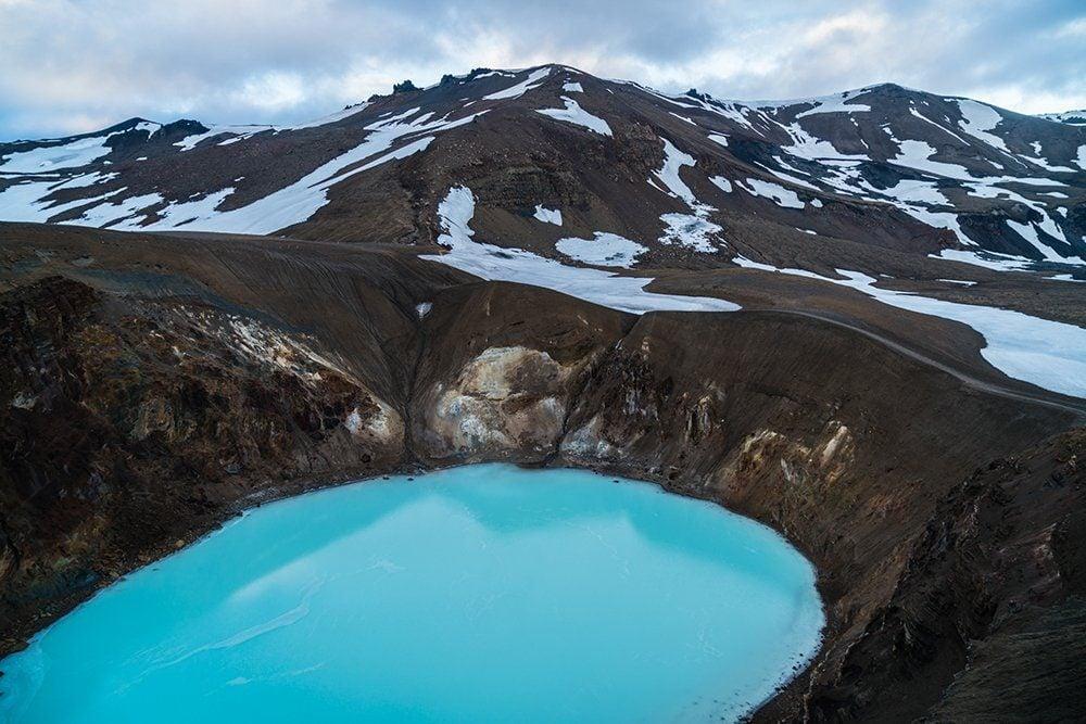 Viti Crater in Askja, Iceland