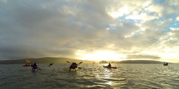Bio bay Kayaking during the sunset