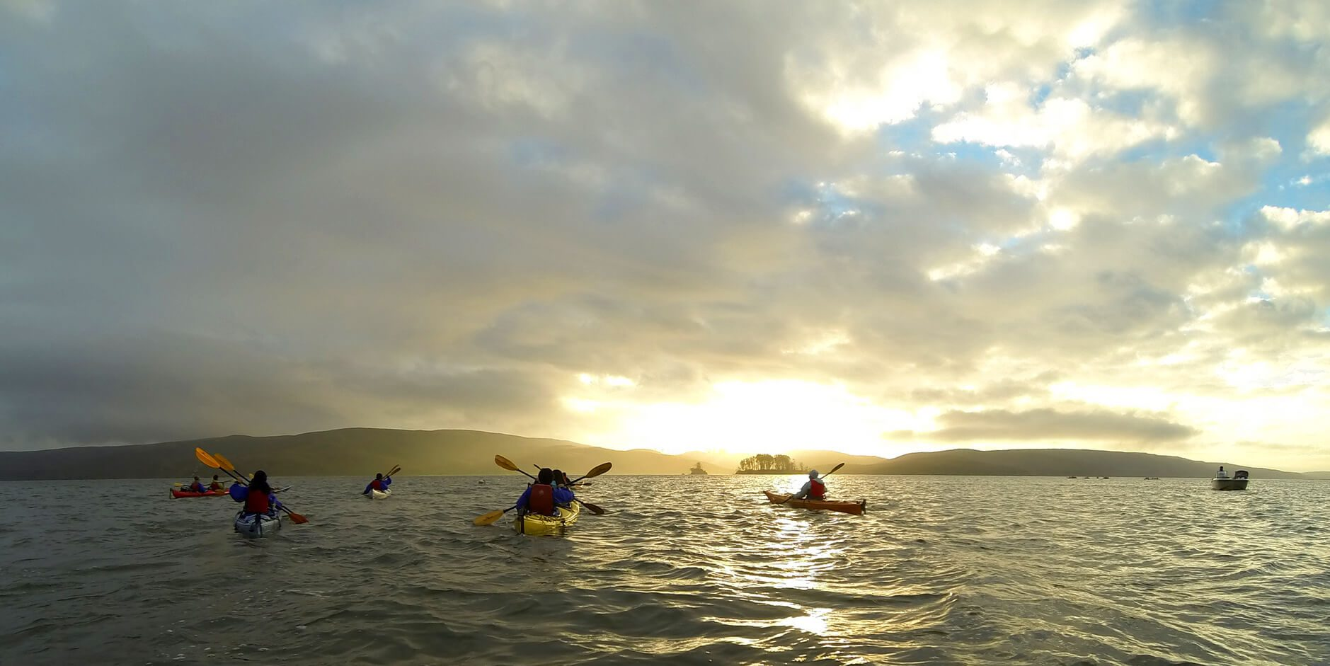 Bio bay Kayaking during the sunset
