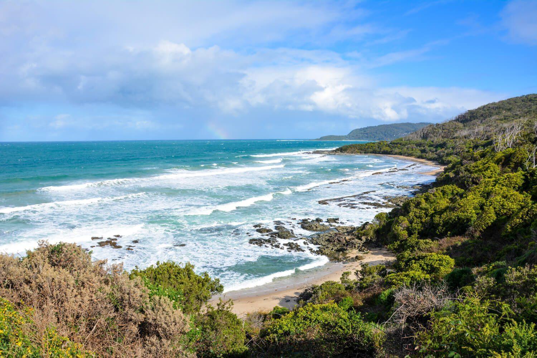 Beach by Lorne, Australia