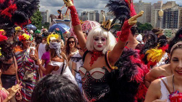 Carnival at Belo Horizonte, Brazil