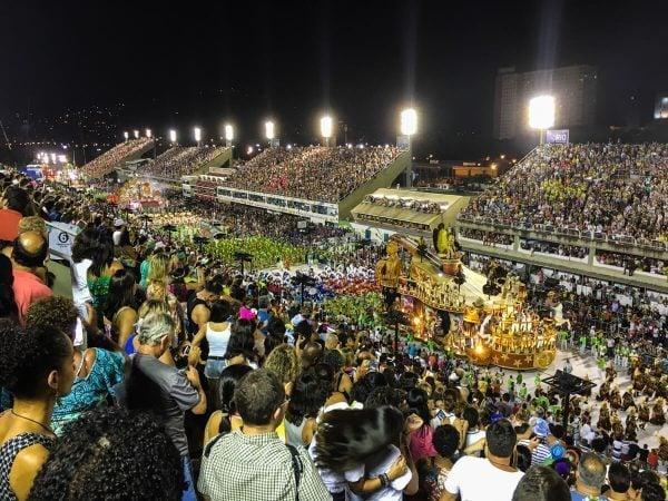 Sambodromo Carnival in Rio de Janeiro, Brazil