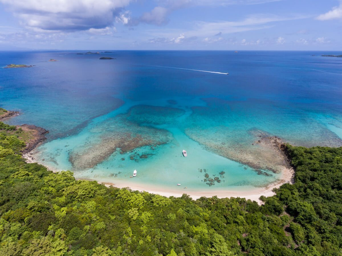 Beach at Culebra, Puerto Rico