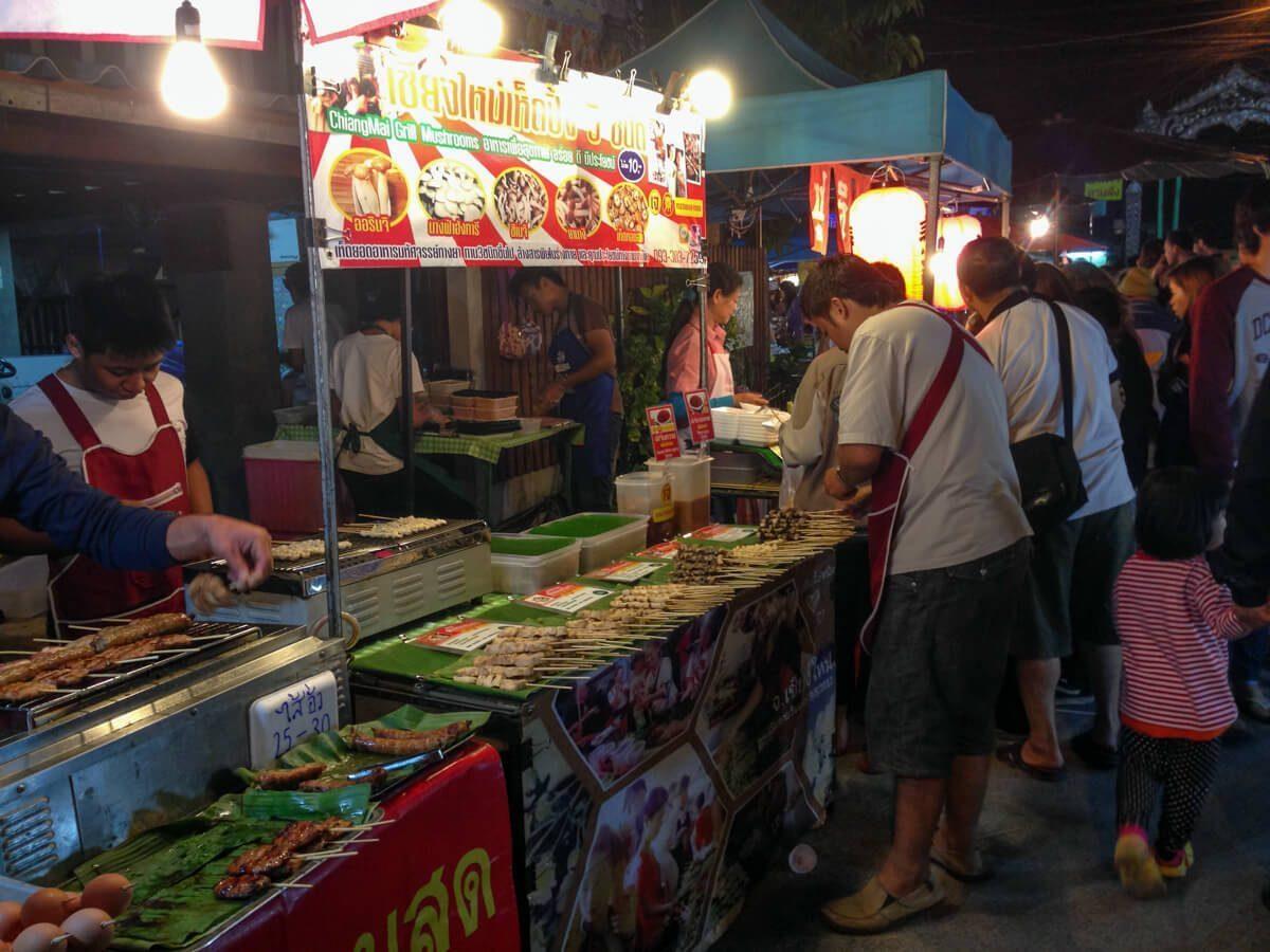 Bangkok's Street Food Cart