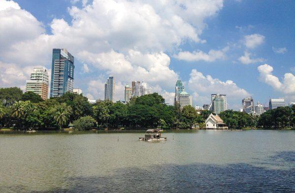 Lumpini park in Bangkok