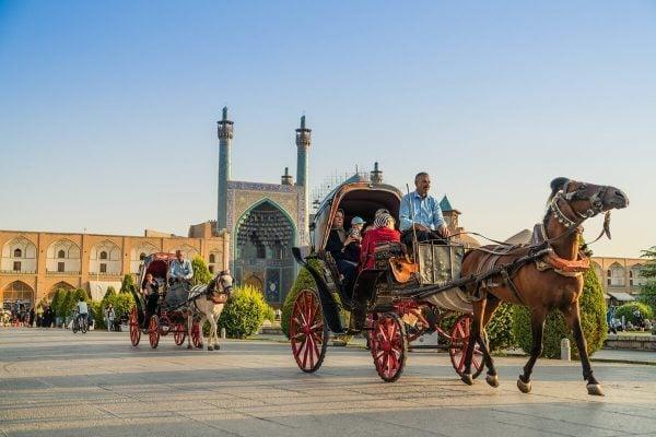 Esfahan Naqsh-e Jahan Square, Iran