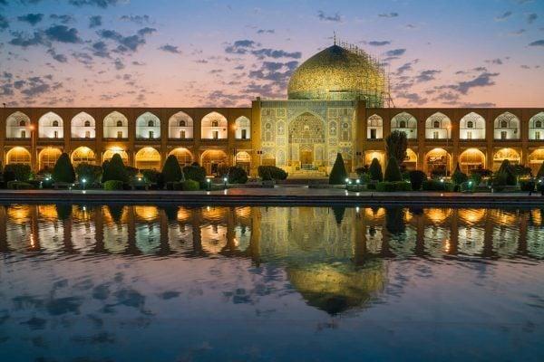 Esfahan Naqsh-e Jahan Square Sunrise, Iran