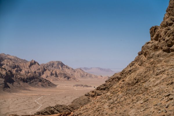 Landscape in Chak Chak, Iran