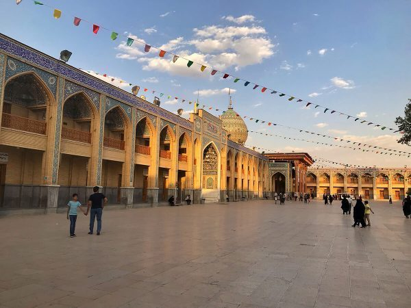 Shah Cheragh Mosque in Shiraz, Iran