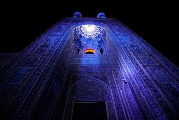 Mosque in Yazd, Iran