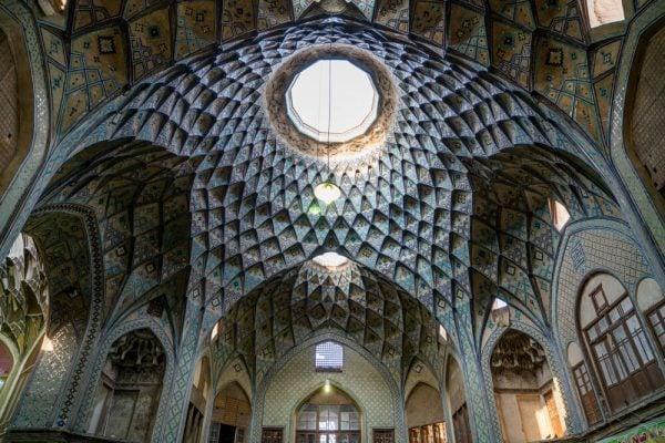 Kashan Bazaar Architecture
