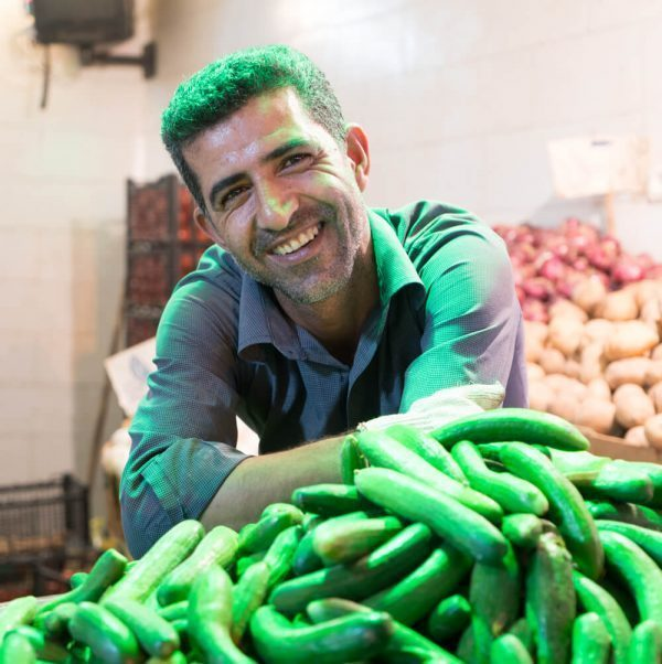 Man in Shiraz Market