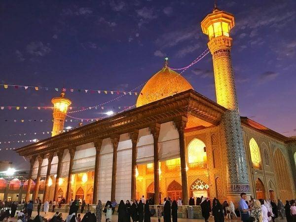 Shah Cherag Mosque, Shiraz, Iran