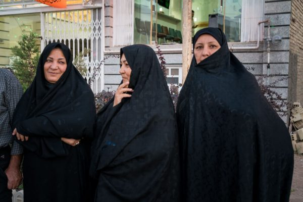 Women in Eqlid, Iran