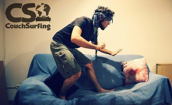 Couchsurfing guy