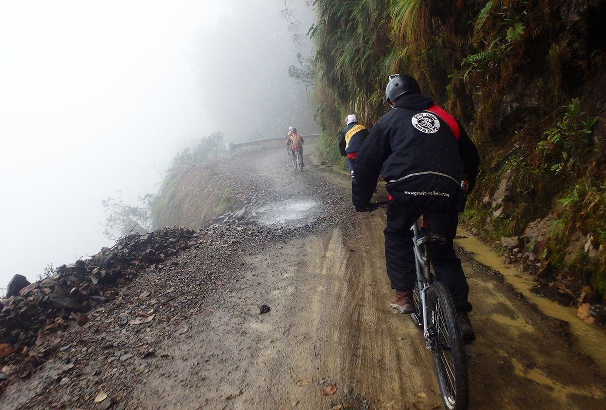 Biking death road