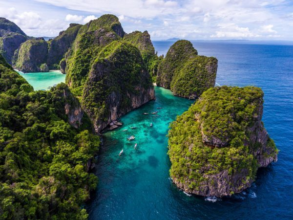 Loh Samah Bay in Thailand