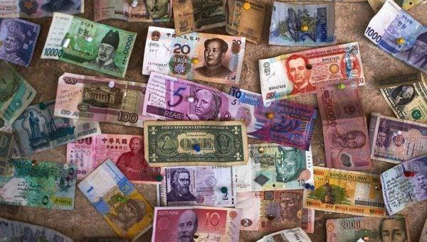 Travel Money from around the world