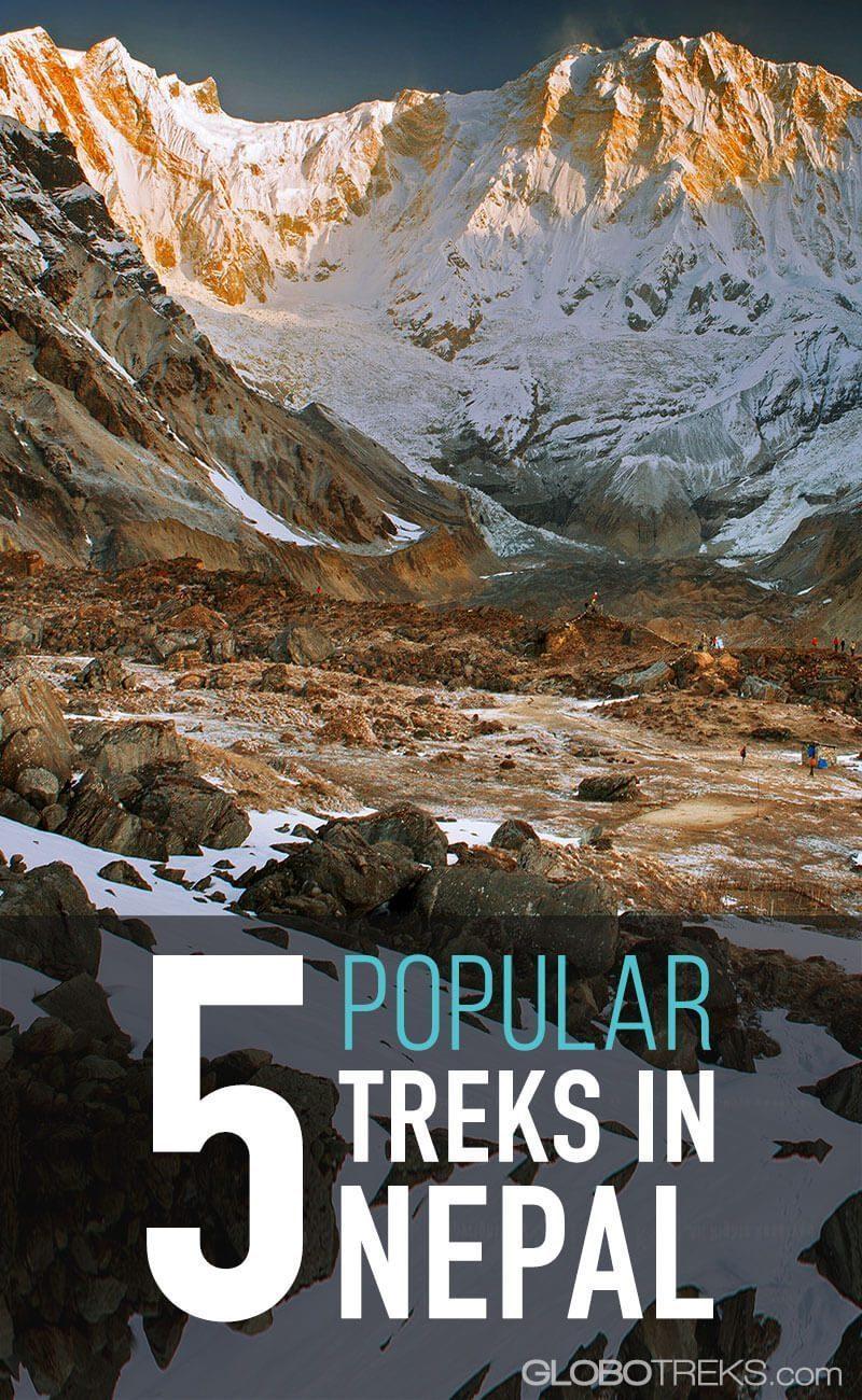 5 Popular Treks in Nepal