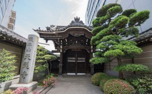 Small temple in Tokyo