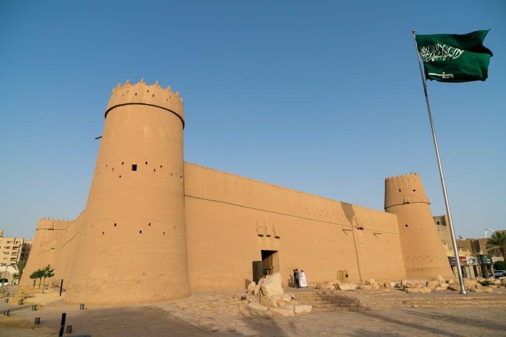 Al Masmak Fortress in Riyadh, Saudi Arabia