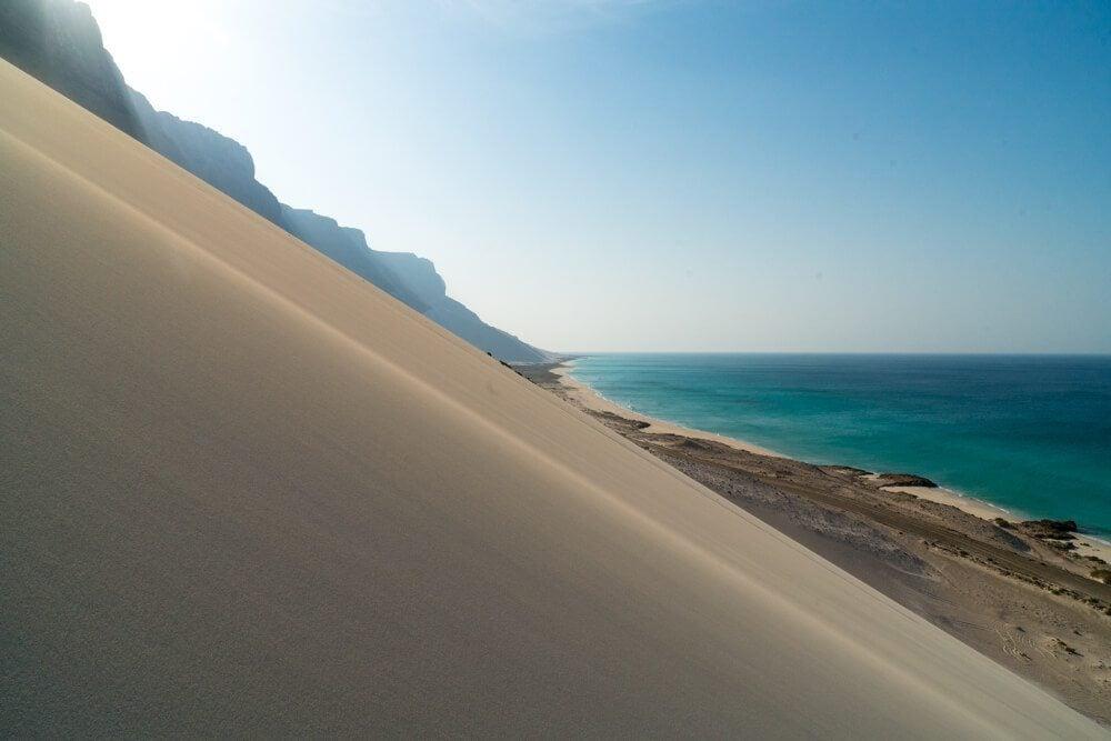 Archer Beach in Socotra Island