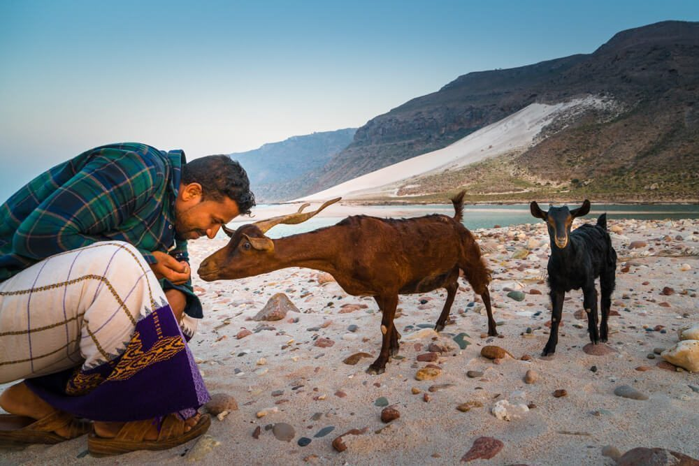 Deleisha Beach in Socotra Island
