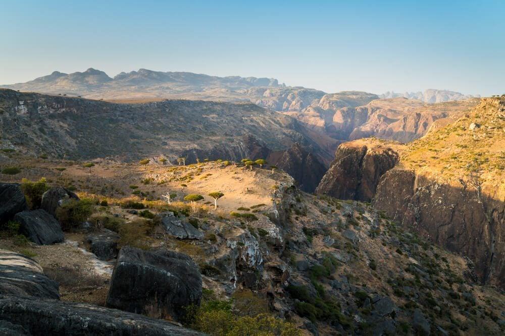 The Canyon at Dicksam in Socotra