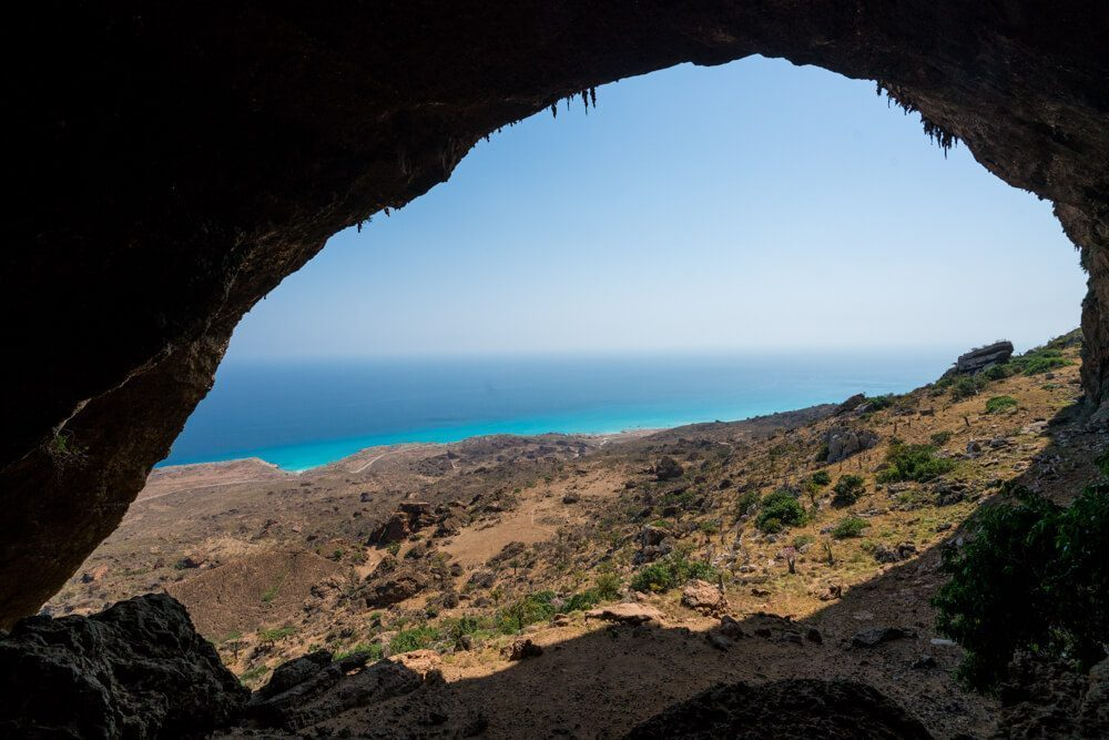 Hour Cave in Socotra