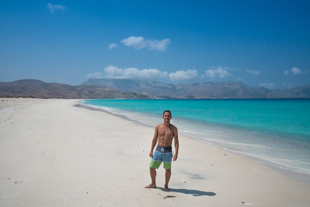 Shouab Beach Socotra