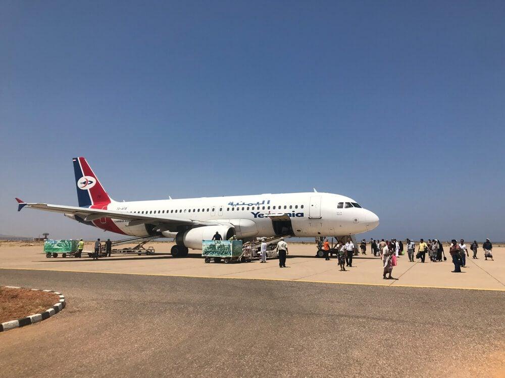 Yemenia Plane